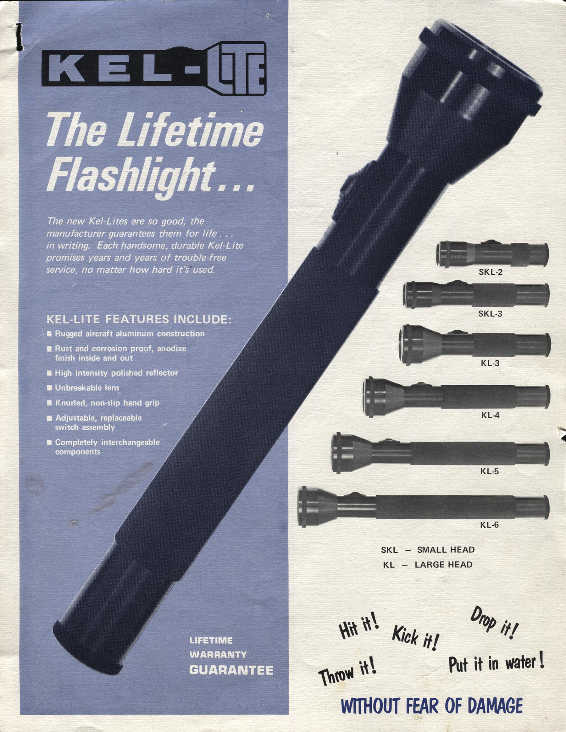 Kel-Lite Brochure Cover